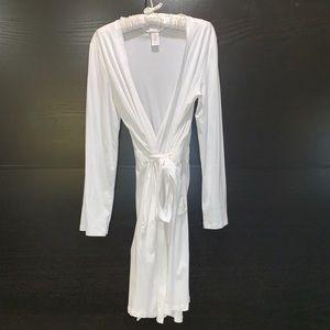 Hanro of Switzerland Cotton jersey robe sz 6/8